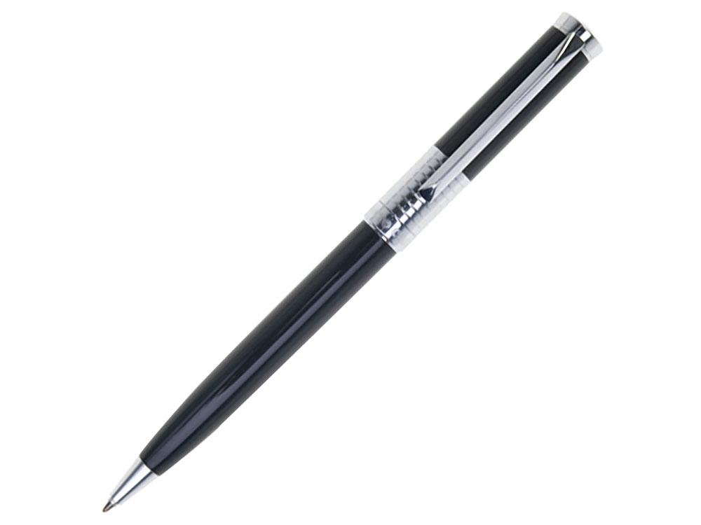 Ручка подарочная шариковая PIERRE CARDIN (Пьер Карден) Evolution, корпус черный, латунь, хром, синяя цена
