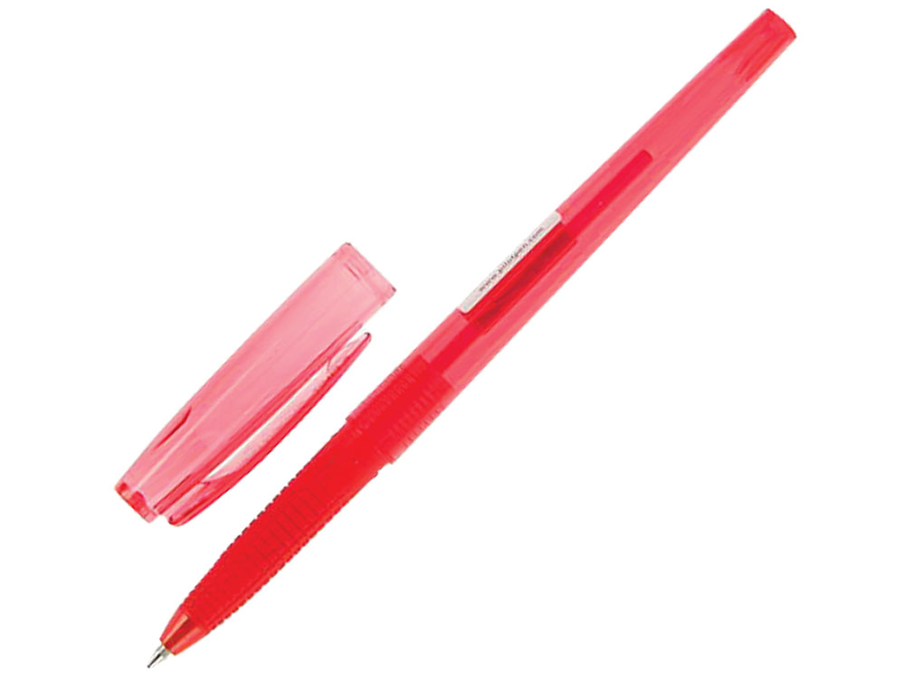 Ручка шариковая масляная Pilot Super Grip G красная, узел 0,7 мм, линия письма 0,22 мм beata guzowska dobre wychowanie savoir vivre dla dzieci