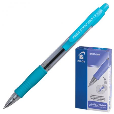 Ручка шариковая масляная автоматическая Pilot Super Grip синий 0.32 мм 141858 ручка шариковая масляная автоматическая brauberg fruity rg 142655 синий 0 35 мм