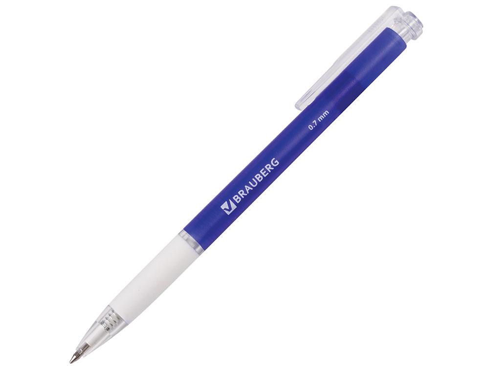 Ручка шариковая автоматическая BRAUBERG Sprinter синий 0.7 мм ручка шариковая автоматическая brauberg 140665 синий 0 7 мм