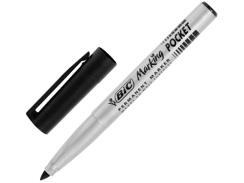 Маркер перманентный (нестираемый) BIC Marking Fine, черный, 1,2-4,2 мм