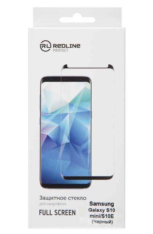 Защитное стекло Red Line для Samsung Galaxy S10e черный защитное стекло brosco 3d для samsung galaxy a6 2018 черный