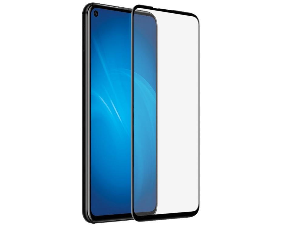 Закаленное стекло 3D DF hwColor-106 black с цветной рамкой (fullscreen+fullglue) для Huawei Honor 20/ Honor 20 Pro/ Nova 5T цена и фото