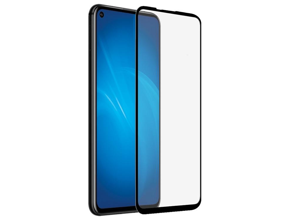 Закаленное стекло с цветной рамкой DF hwColor-104 (black) (fullscreen) для Huawei Honor 20/ Honor 20 Pro/Nova 5T цена и фото