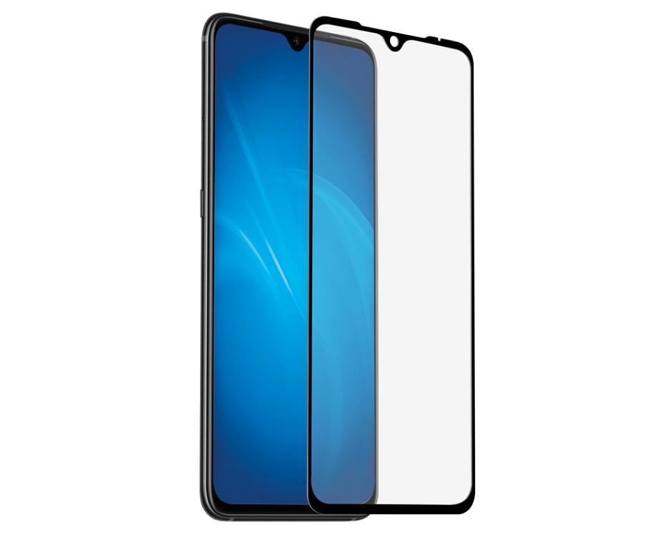 Закаленное стекло с цветной рамкой DF xiColor-54 black (fullscreen) для Xiaomi Mi 9/Mi 9 Lite/CC9 защитное стекло df xicolor 11 для xiaomi mi 5c с рамкой белый