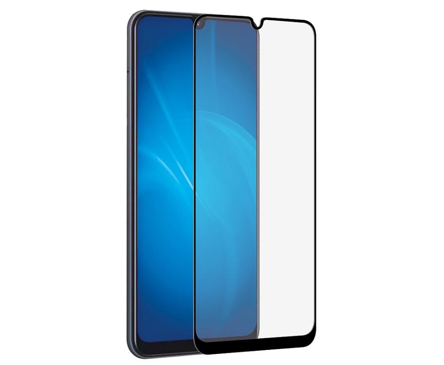 Закаленное стекло с цветной рамкой DF sColor-75 black (fullscreen+fullglue) для Samsung Galaxy A10 закаленное стекло с цветной рамкой fullscreen для nokia 5 1 2018 df nkcolor 16 black