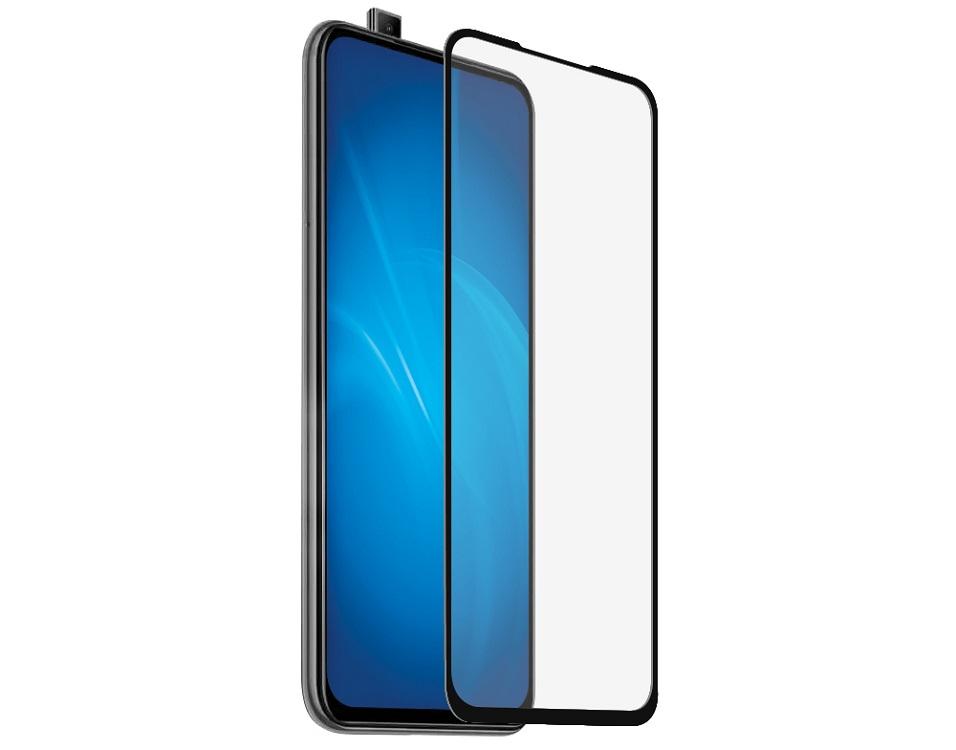 Закаленное стекло с цветной рамкой DF xiColor-62 black (fullscreen+fullglue) для Xiaomi Mi 9T/Mi 9T Pro/Redmi K20/Redmi K20 Pro закаленное стекло df xicolor 23 с цветной рамкой для xiaomi redmi 5 plus белый
