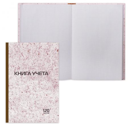 Книга учета STAFF Книга учета A4 120 листов 130179