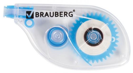 Корректирующая лента BRAUBERG Корректирующая лента 221685 корректирующая лента brauberg 5 мм х 20 м корпус синий механизм перемотки блистер 227799