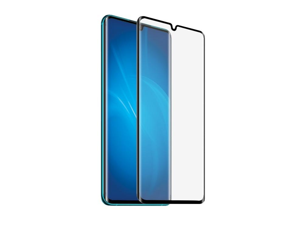 Закаленное стекло 3D с цветной рамкой (fullscreen) для Xiaomi Mi Note 10 DF xiColor-75 (black) защитное стекло df xicolor 11 для xiaomi mi 5c с рамкой белый