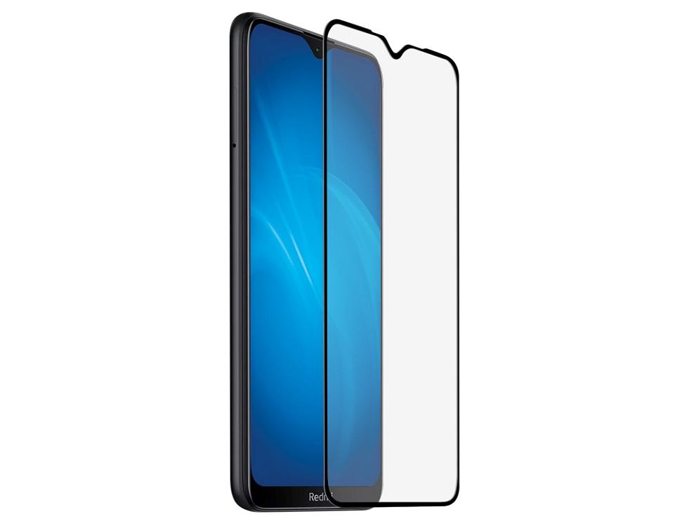 Закаленное стекло с цветной рамкой (fullscreen) для Xiaomi Redmi Note 8T DF xiColor-73 (black) защитное стекло df xicolor 11 для xiaomi mi 5c с рамкой белый