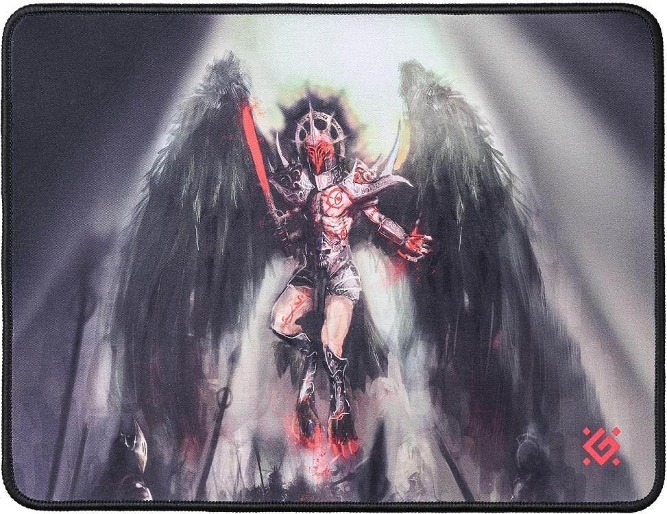 цена на Коврик игровой Defender Angel of Death M 360x270x3 мм, ткань+резина