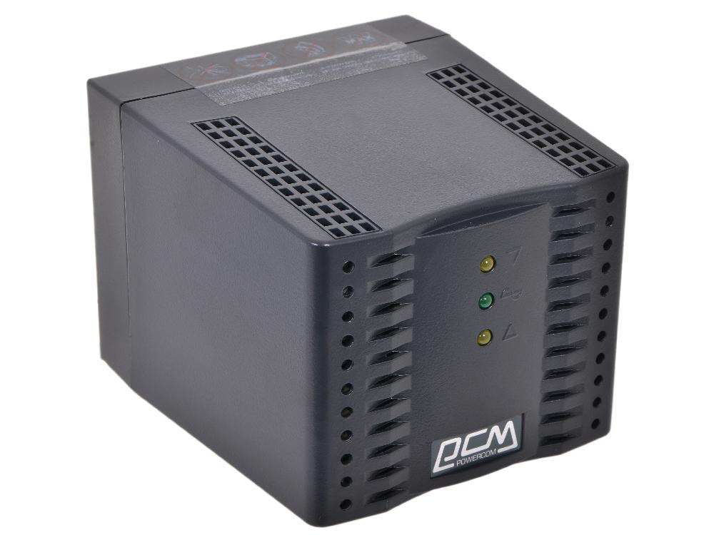 Стабилизатор напряжения Powercom TCA-2000 Black (4 EURO)*