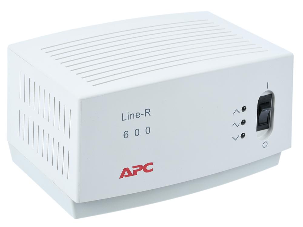 цена Стабилизатор напряжения APC Line-R LE600I 4 розетки 2 м белый 4 розетки, 2 м, белый онлайн в 2017 году