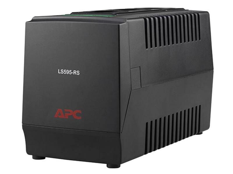 Стабилизатор напряжения APC Line-R LS595-RS 3 розетки 1 м черный стабилизатор apc line r 600 le600i