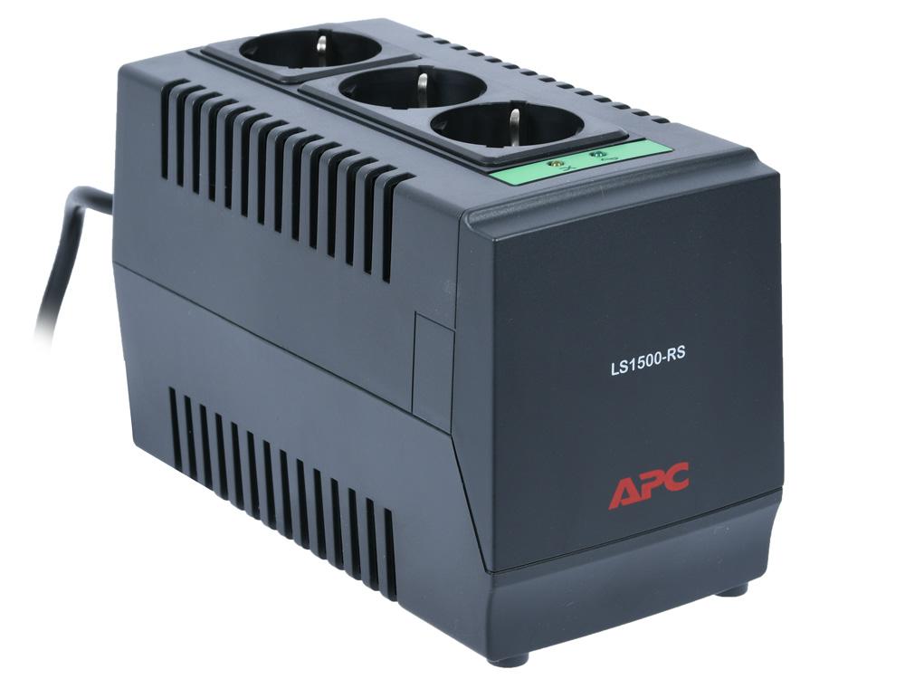 Стабилизатор напряжения APC Line-R LS1000-RS 3 розетки, 1 м, черный все цены