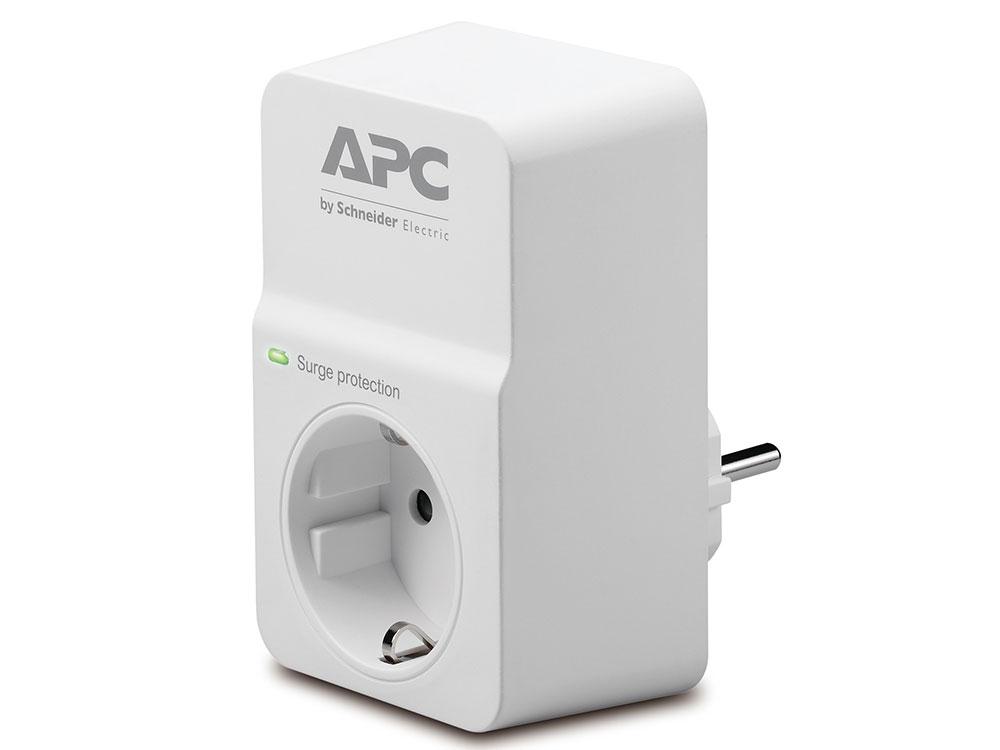 Сетевой фильтр APC PM1W-RS 1 розетка, белый