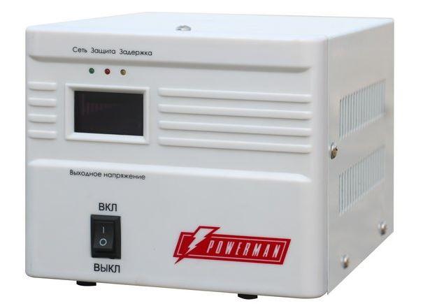 цена на Стабилизатор напряжения Powerman AVS 1000A