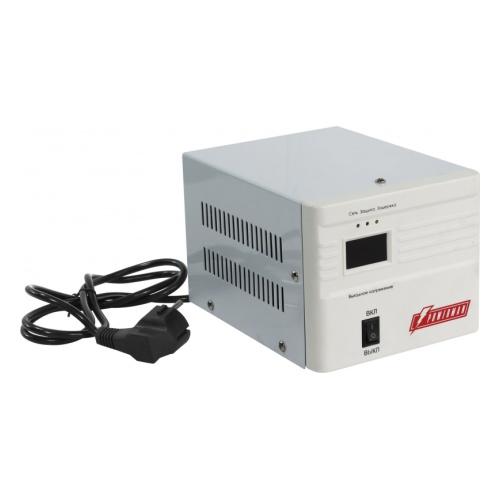 цена на Стабилизатор напряжения Powerman AVS 500A 1 розетка