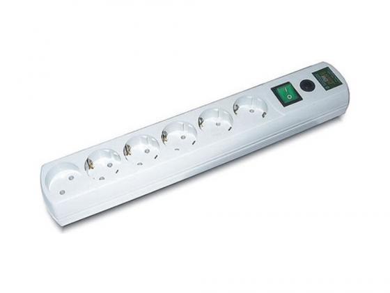 Сетевой фильтр MOST RG 3м 6 розеток белый сетевой фильтр most rg u 3м белый [моst rg u 3м]