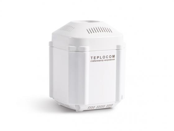 Стабилизатор TEPLOCOM ST-222/500 сетевого напряжения 220 в 222 ва teplocom стабилизатор напряжения для котла teplocom st 222 500