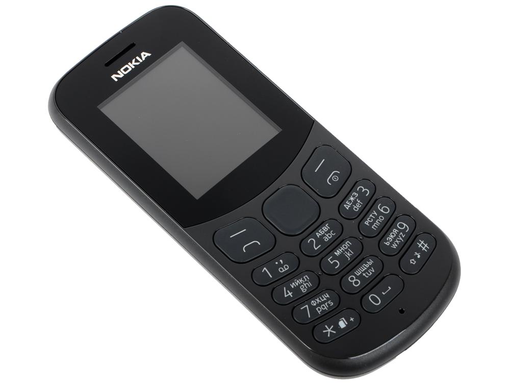 цена на Мобильный телефон NOKIA 130 Dual Sim (2017) Black 1.8/DualSim/BT/microSD