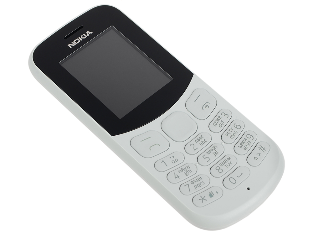 Мобильный телефон NOKIA 130 DS Grey ludwig dylan intentionality information and consciousness