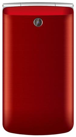 Мобильный телефон teXet TM-404 (Red) 2.8 240x320 / 2G / BT / 0.08Mp радиотелефон texet tx d6955a