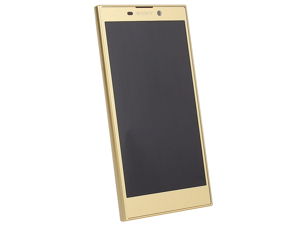 Смартфон SONY Xperia L1 (Gold) MediaTek MT6737T (1.45)/3GB/32GB/5.5 1280x720/13Mp, 8Mp/3G/4G LTE/BT/FPR/Android 7.1 (H4311G) смартфон bq 5700l space x black qualcomm snapdragon 430 1 4 3gb 32gb 5 7 1440х720 ips 2sim 4g lte fpr 16mp 20 8mp cam android 7 1