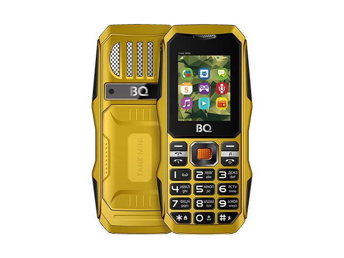 BQ 1842 Tank mini Yellow Мобильный телефон цена