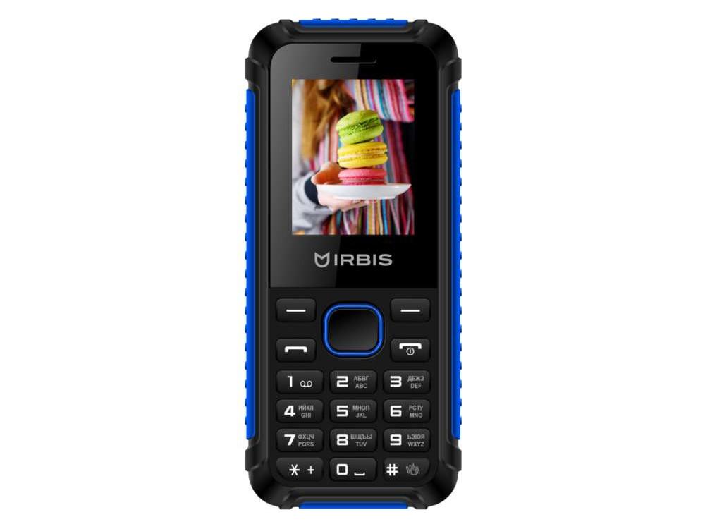 Телефон Irbis SF17 черный синий 1.77