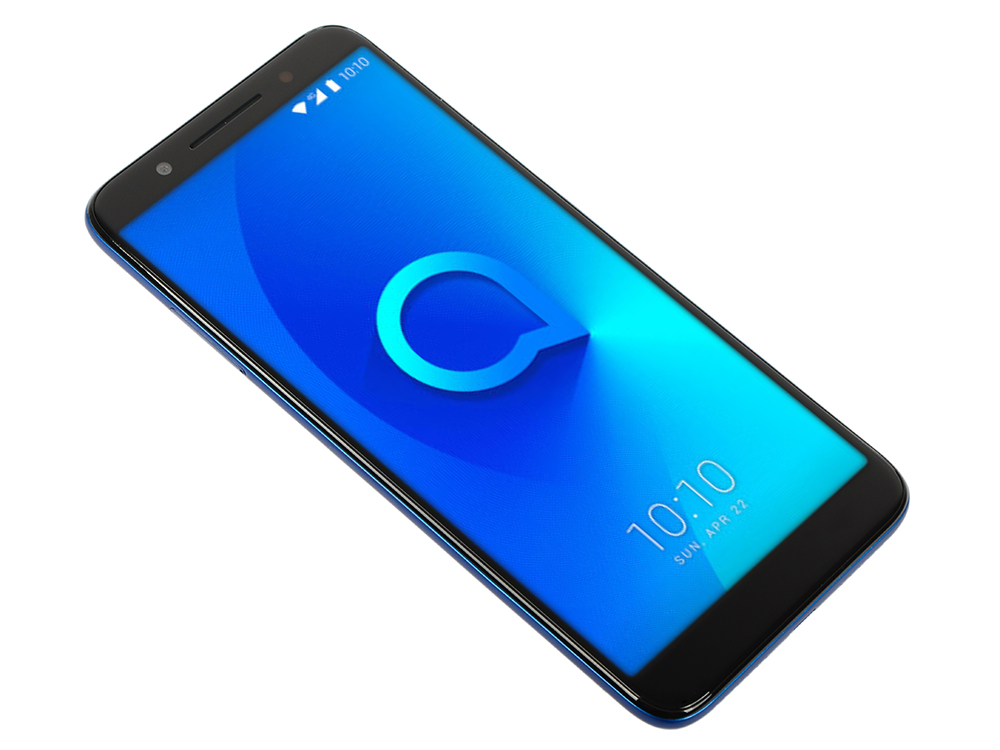 Смартфон Alcatel 3 5052D Spectrum Blue/ Голубой MediaTek MT6739 (1.3)/16 Gb/2 Gb/5.5 (1440x720)/DualSim/3G/4G/BT/Android 8 смартфон alcatel 5045d pixi 4 white orange