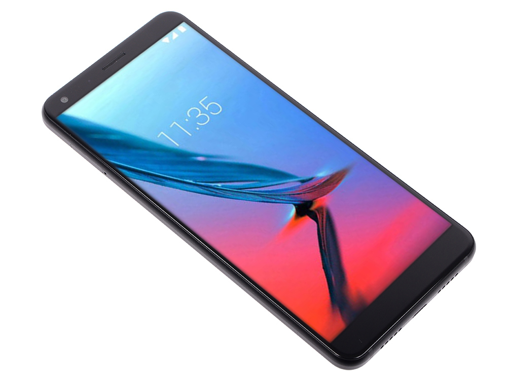 Смартфон ZTE Blade V9 Черный Qualcomm Snapdragon 450 (1.8)/3GB/32GB/5.7 (2160x1080)/16Mp+5Mp/13Mp/3G/4G/Android 8.1 смартфон bq 5700l space x black qualcomm snapdragon 430 1 4 3gb 32gb 5 7 1440х720 ips 2sim 4g lte fpr 16mp 20 8mp cam android 7 1