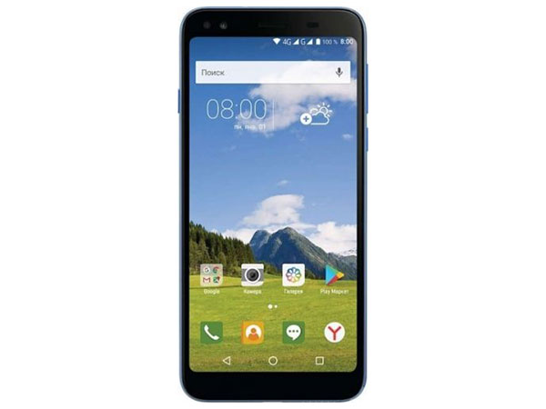 "Смартфон Philips S395 (Light Blue) 2Sim/ 5.7"" 1440 x 720, 2/16Гб 8/5Мп/4G/Android 7.0/3000 мАч S395"