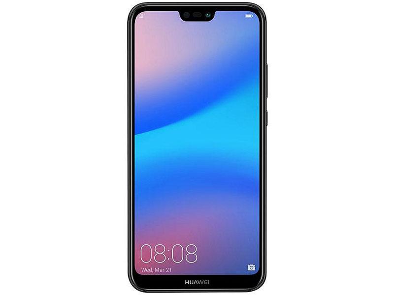 Смартфон Huawei P20 Lite (ANE-LX1) Black Kirin 659(2.36GHz)/4GB/64GB/5.84 2280x1080/2 Sim/3G/LTE/BT/Wi-Fi/16Mp+2Mp/16Mp/GPS/Glonas/Android 8.0 huawei p20 lite 64gb 4g pink смартфон