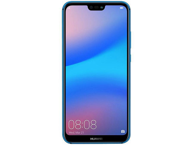 "Смартфон Huawei P20 Lite (ANE-LX1) Blue Kirin 659(2.36GHz)/4GB/64GB/5.84"" 2280x1080/2 Sim/3G/LTE/BT/Wi-Fi/16Mp+2Mp/16Mp/GPS/Glonas/Android 8.0 51092GYT"