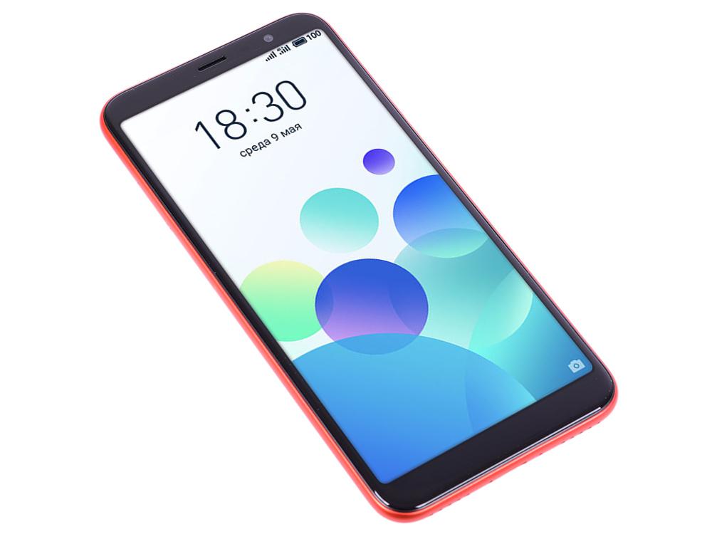 Смартфон Meizu M6T Red MediaTek MT6750 (1.5+1.0)/16 Gb/2 Gb/5.7 (1440x720)/3G/4G/BT/Android 7.0 смартфон meizu m6s 64gb gold samsung exynos 7872 2 0 64 gb 3 gb 5 7 1440x720 dualsim 3g 4g bt android 7 1 page 4