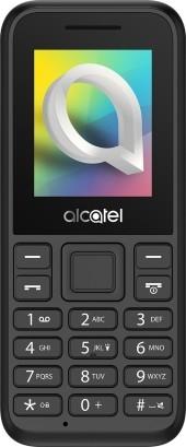 Мобильный телефон Alcatel OneTouch 1066D Black 1.8 (160x128)/DualSim/microSD умные часы alcatel onetouch watch с пластиковым ремешком