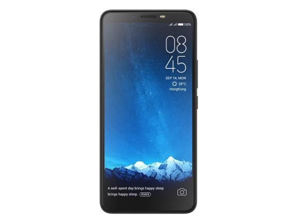 Смартфон Tecno CA7 Midnight Black MediaTek Helio P23 (2.5)/3 Gb/32 Gb/6 (1440 x 720)/DualSim/LTE/noNFC/BT 4.0/Android 8.1 смартфон bqs 5050 strike selfie grey mediatek mt6580 1 3 8 gb 1 gb 5 1280x720 dualsim 3g bt android 6 0