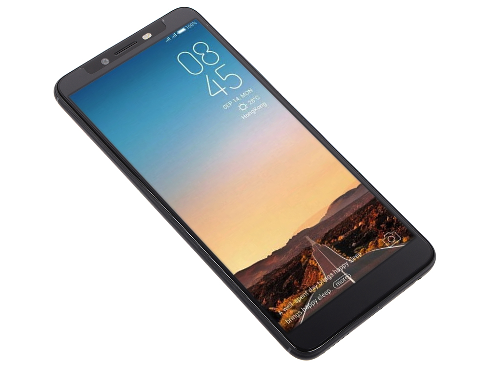 Смартфон Tecno CA7 Midnight Black MediaTek Helio P23 (2.5)/3 Gb/32 Gb/6 (1440 x 720)/DualSim/LTE/noNFC/BT 4.0/Android 8.1