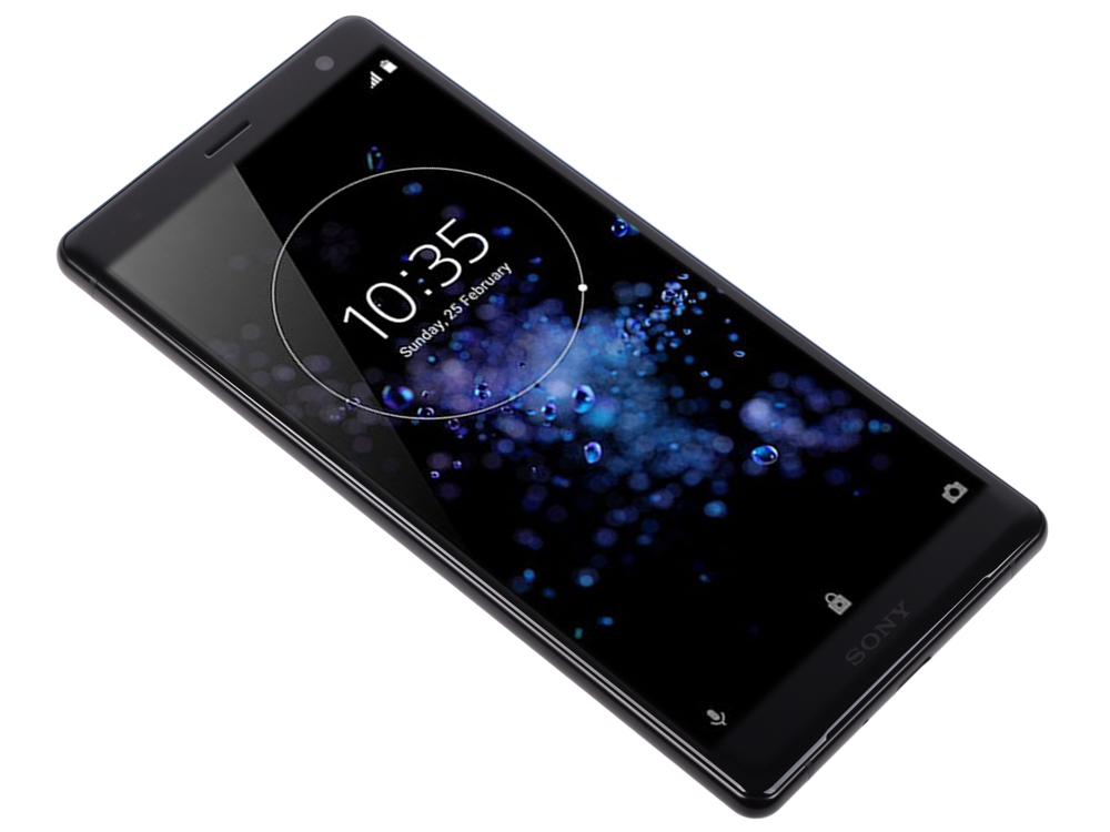 Смартфон Sony Xperia XZ2 (H8266) Liquid Black Qualcomm Snapdragon 845 (2.8+1.7)/4Гб/64 Гб/5.7 (2160x1080)/3G/4G/BT/Android 8.0 смартфон sony xperia 10 plus ds i4213 navy sd636 4гб 64 гб 6 5 fhd 21 9 3g 4g bt android 9 0