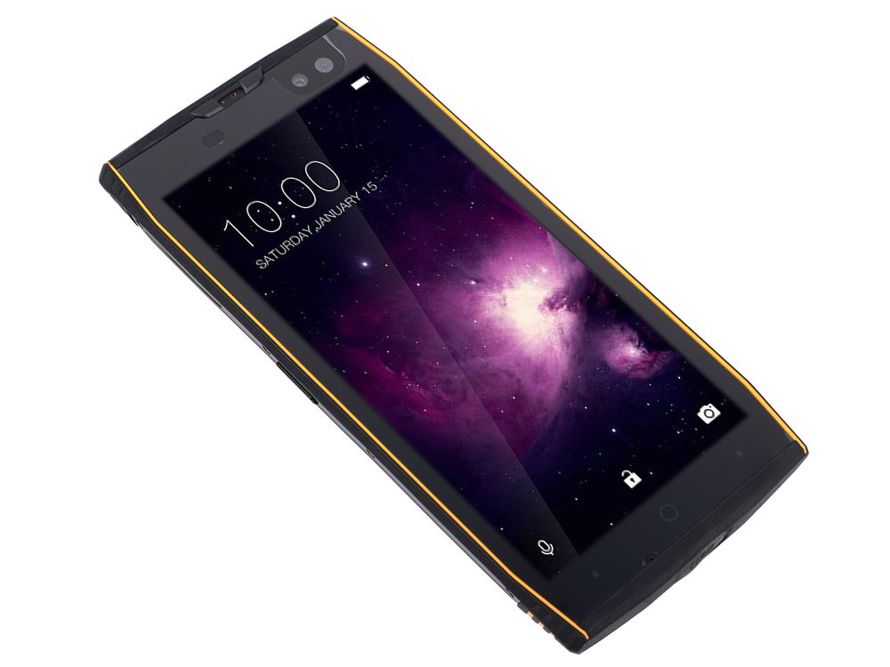 Смартфон Doogee S50 Black Orange MediaTek MT6763T (2.3+1.65)/64 Gb/6 Gb/5.7 (1440x720)/DualSim/3G/4G/BT/Android 7.0 смартфон xiaomi mi 8 64 black qualcomm snapdragon 845 2 8 1 7 64 gb 6 gb 6 21 2248x1080 dualsim 3g 4g bt android 8 1