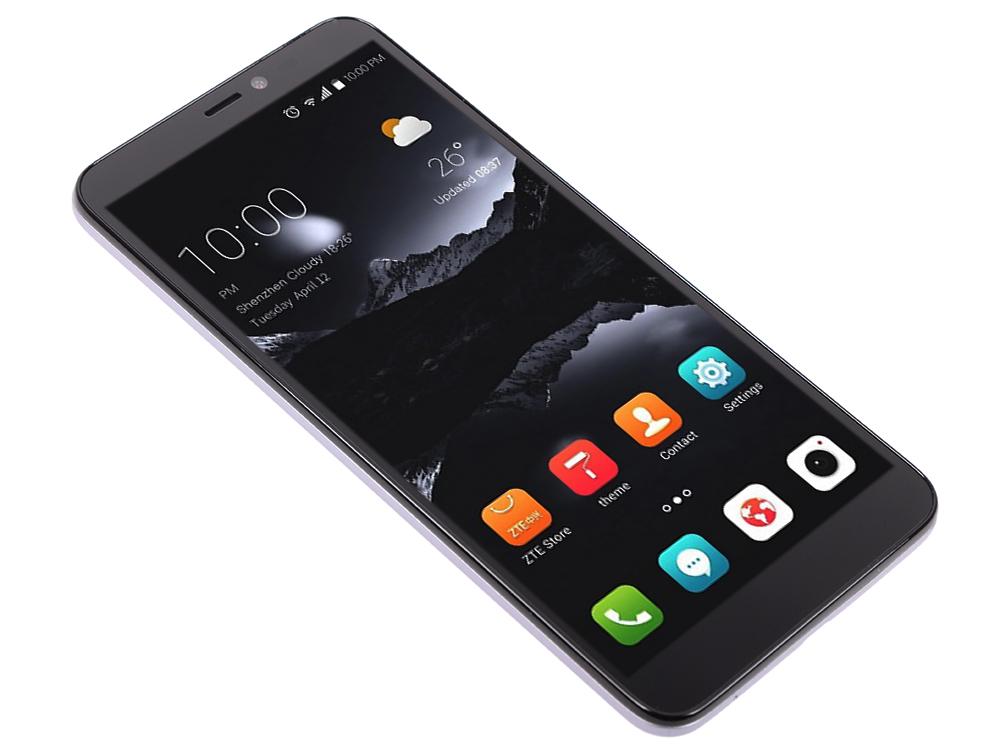 Смартфон ZTE Blade A530 Grey MediaTek MT6739(1.5)/16 Gb/2 Gb/5.45 (1440x720)/DualSim/3G/4G/BT/Android 8.1 смартфон zte blade a465 4g black