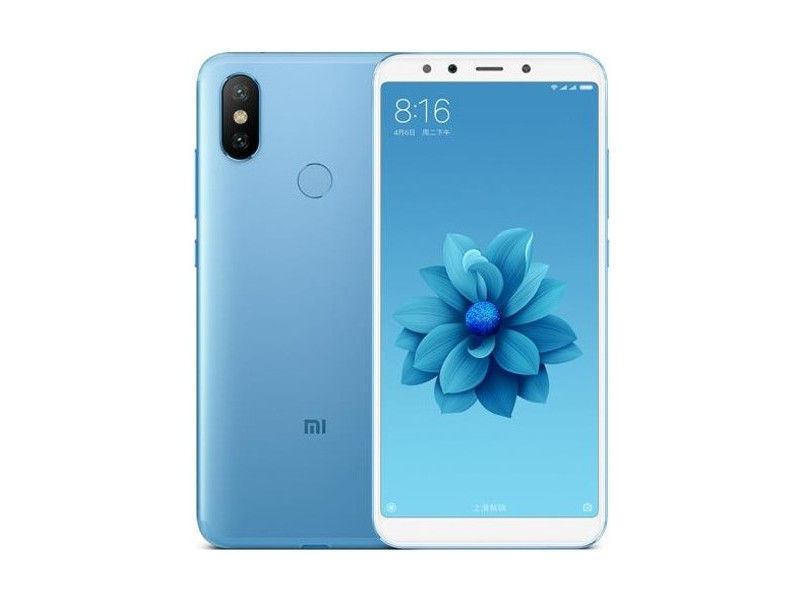 Смартфон Xiaomi Mi A2 Blue (MiA2GB64BLU) Qualcomm Snapdragon 660 (2.0) / 4GB / 64GB / 5.99 2160x1080 IPS / 12Mp + 20Mp, 20Mp / 2Sim / 3G / 4G LTE / IRDA / GPS / Android 8.1 смартфон xiaomi mi a2 blue mia2gb64blu qualcomm snapdragon 660 2 0 4gb 64gb 5 99 2160x1080 ips 12mp 20mp 20mp 2sim 3g 4g lte irda gps android 8 1