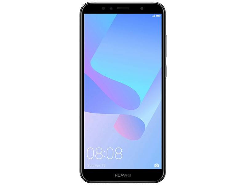 Смартфон Y6 2018 Prime (Black) Snapdragon 425 (1.4) / 2GB / 16GB / 5.7 1440x720 / 2Sim / 3G / 4G LTE / 13Mp, 5Mp / Android 8.0 (ATU?L31) 3g 4g lte patch antenna 3dbi 3meters extension cable rp tnc male plug connector new