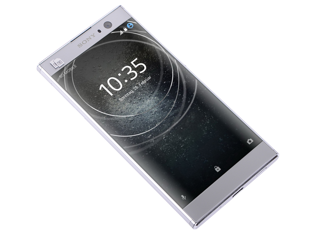 Смартфон Sony Xperia XA2 Dual Silver (H4113) Qualcomm Snapdragon 630 (2.2) / 4GB / 32GB / 6 1920x1080 / 23Mp, 8 Mp Cam / 4G LTE / NFC / FPR / Android 8.0 смартфон bq 5700l space x black qualcomm snapdragon 430 1 4 3gb 32gb 5 7 1440х720 ips 2sim 4g lte fpr 16mp 20 8mp cam android 7 1