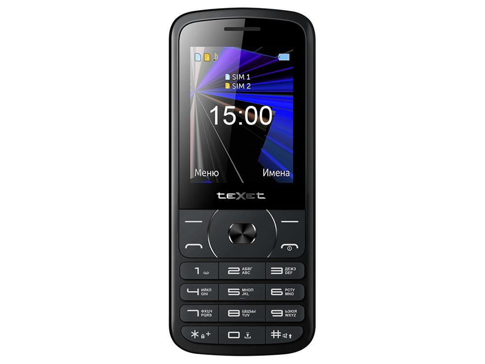 teXet TM-D229 черный Мобильный телефон фотобарабан hp ce314a 126a для color laserjet pro cp1025 cp1025nw
