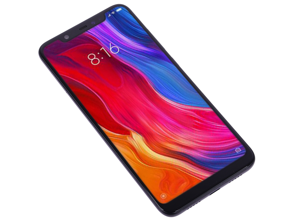 Смартфон Xiaomi Mi 8 64 Black Qualcomm Snapdragon 845 (2.8+1.7)/64 Gb/6 Gb/6.21 (2248x1080)/DualSim/3G/4G/BT/Android 8.1 смартфон meizu m6т 32gb m811h blue mediatek mt6750 1 5 32 gb 3 gb 5 7 1440x720 dualsim 3g 4g bt android 7 0