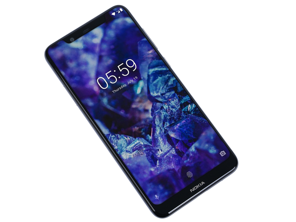 Смартфон Nokia 5.1 Plus DS (TA-1105) Black MediaTek MT6771/5.8