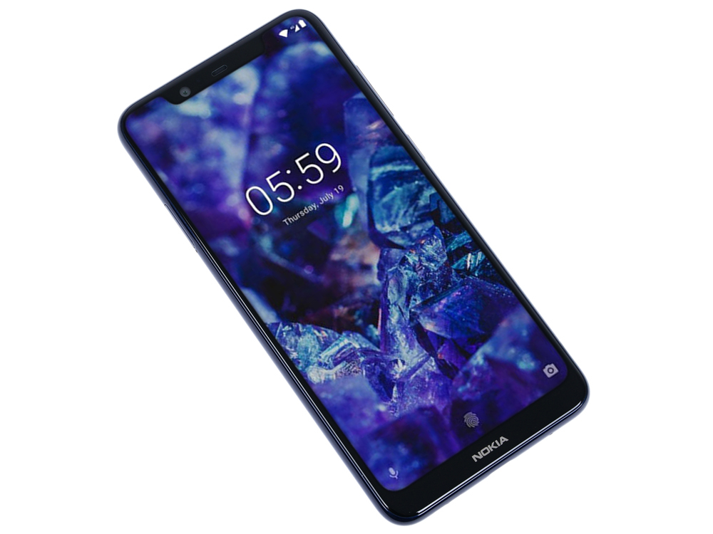 Смартфон Nokia 5.1 Plus DS (TA-1105) Blue MediaTek MT6771/5.8